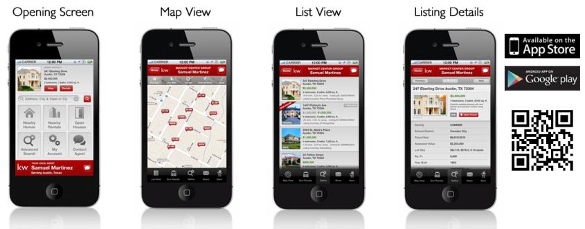 Keller Williams Mobile app 1